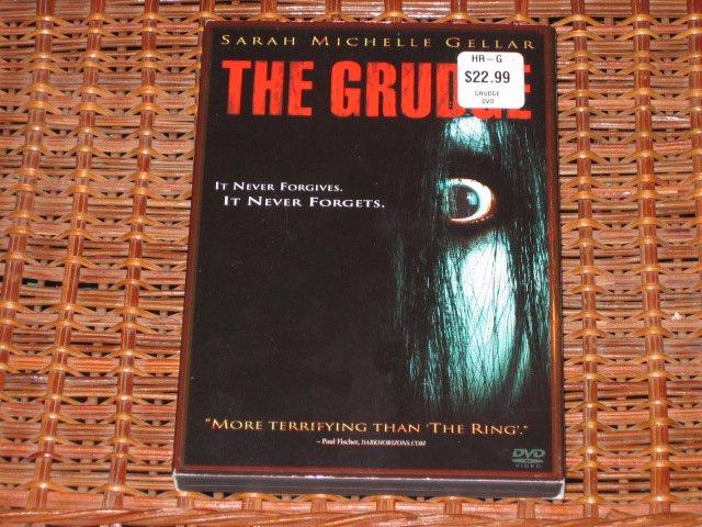 The Grudge DVD Sarah Michelle Gellar Mint!