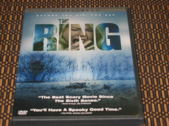 The Ring DVD Naomi Watts Mint!
