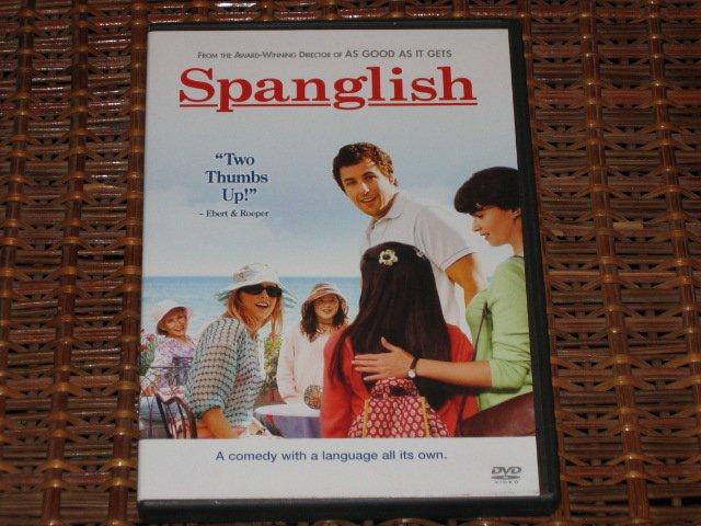 Spanglish DVD Adam Sandler Mint!