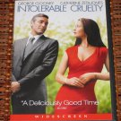 Intolerable Cruelty DVD George Clooney, Catherine Zeta-Jones Mint!