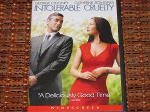 Intolerable Cruelty DVD George Clooney, Catherine Zeta-Jones Mint!