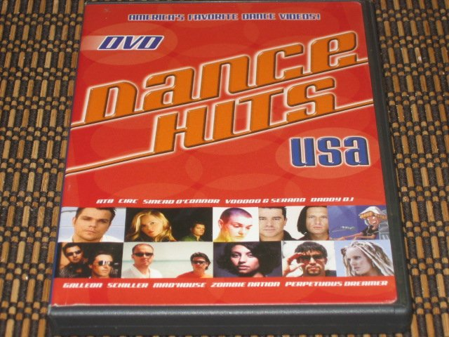 Dance Hits USA DVD Mint!