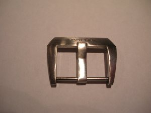 22mm Pre-V Fishtail Buckle Brushed for Panerai