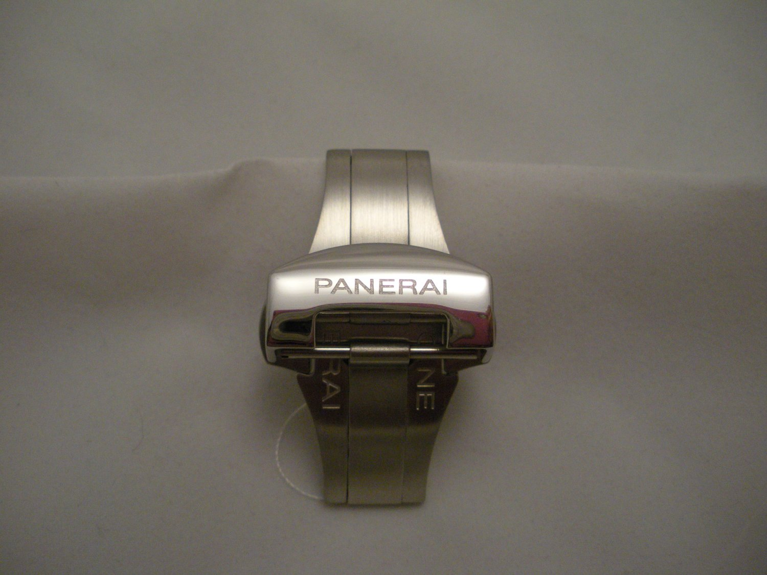 NEW Polished Stainless Deployment Buckle Clasp for PANERAI