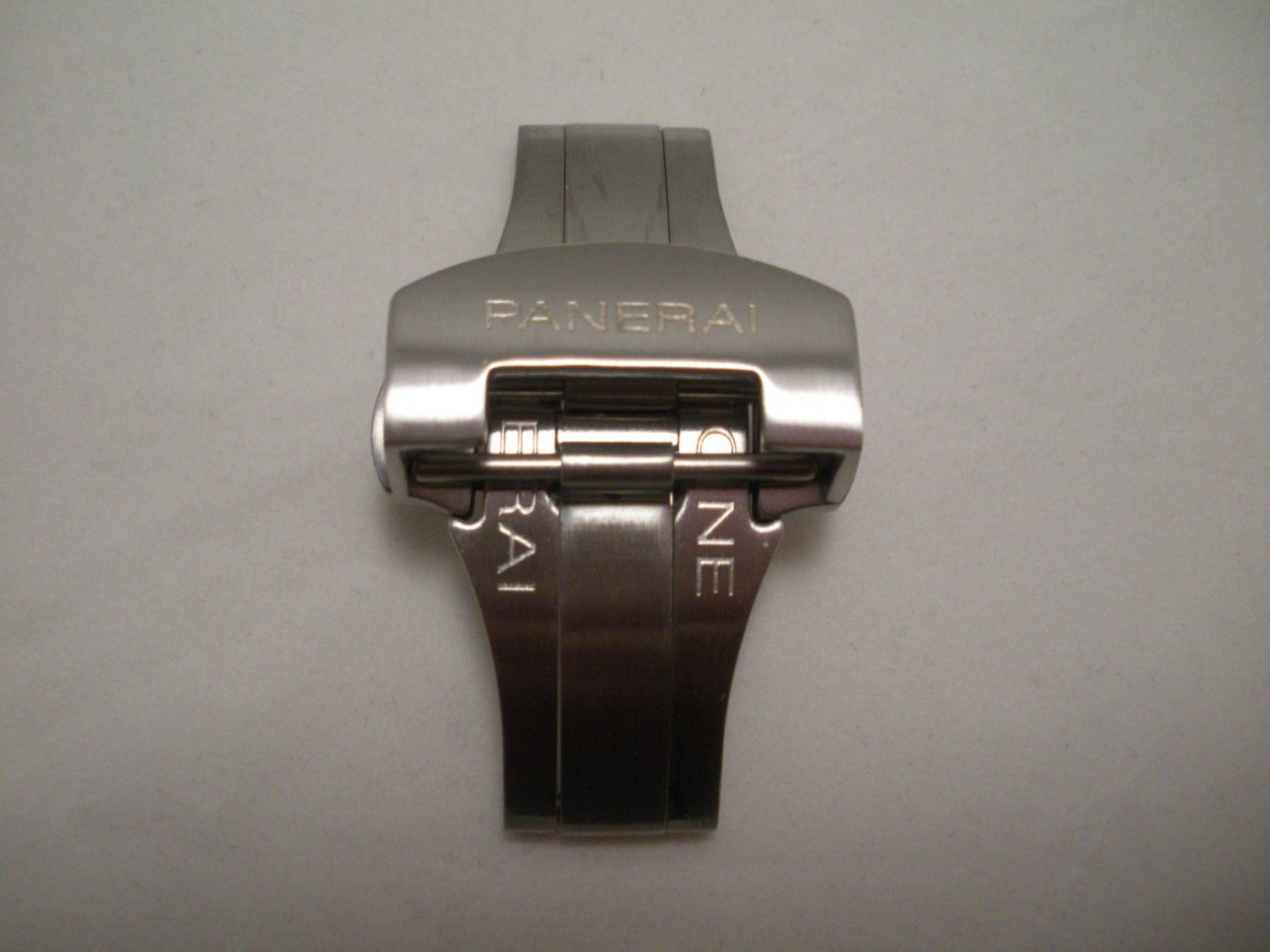 NEW Brushed Stainless Deployment Buckle Clasp for PANERAI