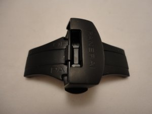 NEW PVD Black Stainless Deployment Buckle Clasp for PANERAI