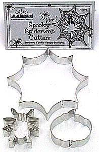 Spooky Spider Set - 3 Pieces,  HS306
