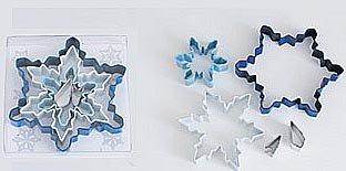 Snowflake Color Set - 5 Pieces,  L1885
