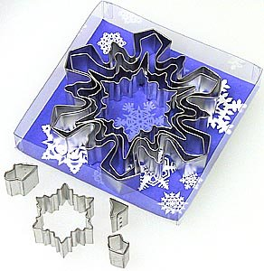 Snowflake Set - 8 Pieces,  L1989