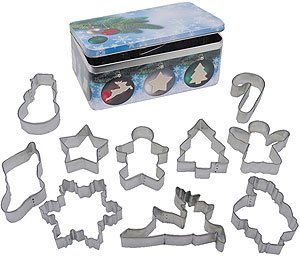 Holiday Set in Storage Tin - 10 Pieces