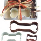 Dog Bone Colored Set - 3 Pieces
