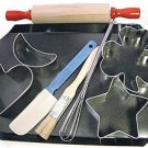 Kiddie Bake Set - 9 Pieces,  L2250