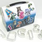 Lunch Box w/ Alphabet Set - 35 Pieces,  L1953