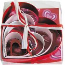 Colored Heart Set - 5 Pieces,  L1897