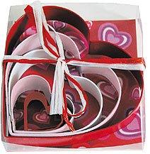 Colored Heart Set - 5 Pieces,  L1897