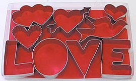 LOVE Set - 9 Pieces,  L1909
