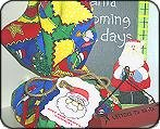 Just for Santa! Cookies Mix Bandana Gift Set