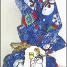 Snowman Cookies Mix~Bandana Gift Set
