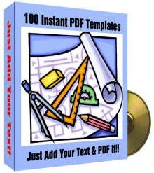 100 PDF TEMPLATES FOR MS WORD EBOOK