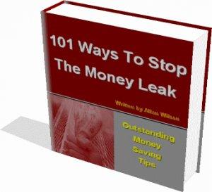 101 OUTSTANDING MONEY SAVINGS TIPS EBOOK, SAVE MONEY