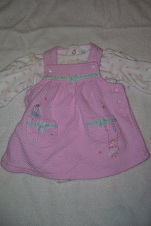 2pc. Pink Dress