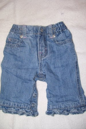 Baby Blue Jeans With Cotton Lining