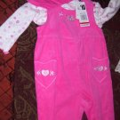 *New* 3pc Hot Pink Outfit With Hat