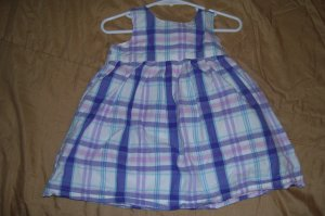 2pc. Purple Plaid Old Navy Dress