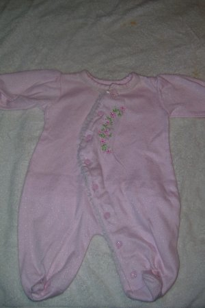 Light Pink Sleeper With Floral