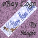 Blue Star Fairy Customized eBay Store Logo 310 X 90 #L036