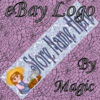 Girl Gardening Customized eBay Store Logo 310 X 90 #L018
