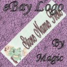 Cute Stuffed Bunny Rabbit Customized eBay Store Logo 310 X 90 #L044