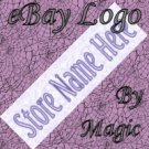Lavender Tile Customized eBay Store Logo 310 X 90 #L054