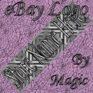 Black and Gray Texture Customized eBay Store Logo 310 X 90 #L058
