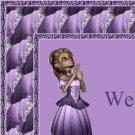 Purple Princess Balerina Ebay, OLA, Overstock Ad Listing Template Html Web Page #049