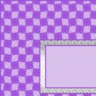 Purple Checker Board Ebay, OLA, Overstock Ad Listing Template Html Web Page #075