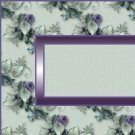 Pale Green Purple Floral Ebay, OLA, Overstock Ad Listing Template Html Web Page #079