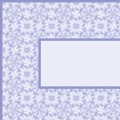 Blue Flower Pattern Ebay, OLA, Overstock Ad Listing Template Html Web Page #090