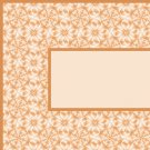 Orange Flower Pattern Ebay, OLA, Overstock Ad Listing Template Html Web Page #093
