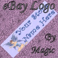 Blue Fairy Customized eBay Store Logo 310 X 90 #L072