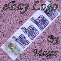 Blue Angel Girl Customized eBay Store Logo 310 X 90 #L076