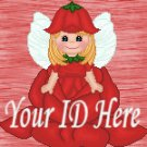 Red Rose Fairy My Space, eBay My World, Web Icon #M016