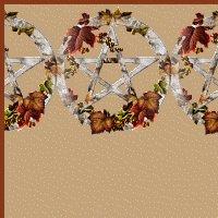 Autumn Leaves Pentagram Ebay, OLA, Overstock Ad Listing Template Html Web Page #099