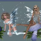 Blue Fairy Scene Ebay, OLA, Overstock Ad Listing Template Html Web Page #100