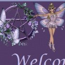 Purple Fairys with Pentagram Ebay, OLA, Overstock Ad Listing Template Html Web Page #102