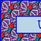 Patriotic Fireworks Pattern Ebay, OLA, Overstock Ad Listing Template Html Web Page #110