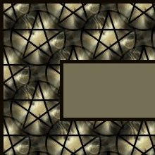 Gold and Black Pentagram Ebay, OLA, Overstock Ad Listing Template Html Web Page #131