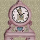 Kitty Cat Country Clock eCrator Store Logo Set Web Set OOAK #E08