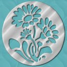 Aqua Flower eCrator Store Logo Set Web Set OOAK #E10