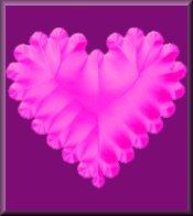 Pink Heart on Purple eCrator Store Logo Set Web Set OOAK #E14
